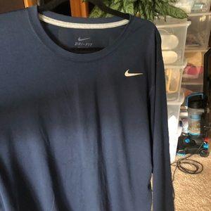 Nike Long sleeve fitness shirt